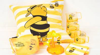 「はちみつの日」に先駆けて、本日(7/23)よりくまのプーさん「Hunny Funny Sunny」シリーズが発売開始!