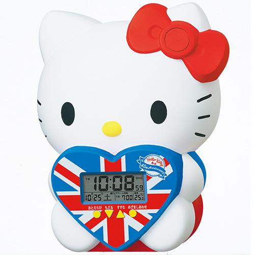ハローキティ45周年記念のおしゃべり目覚まし時計が、明日(7/26)から3,000台の数量限定発売!