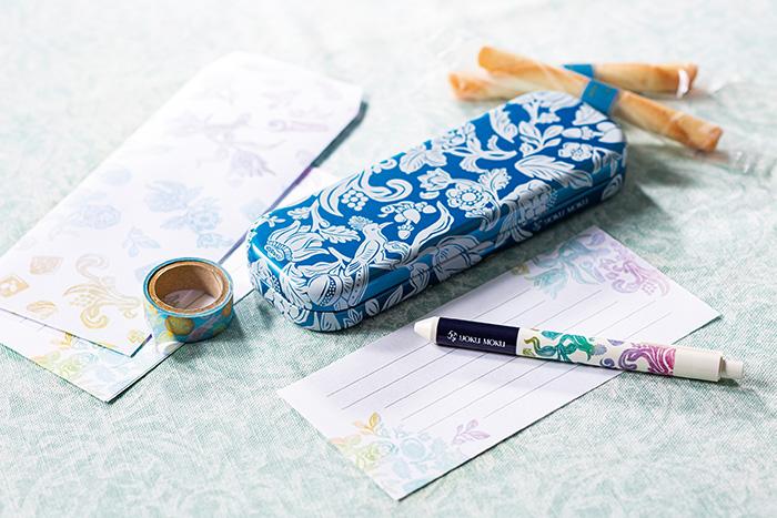 ペンがなければシガールを入れればいいじゃない!菓子店「ヨックモック」より、初の文具『ヨッ具モッ具』が誕生!