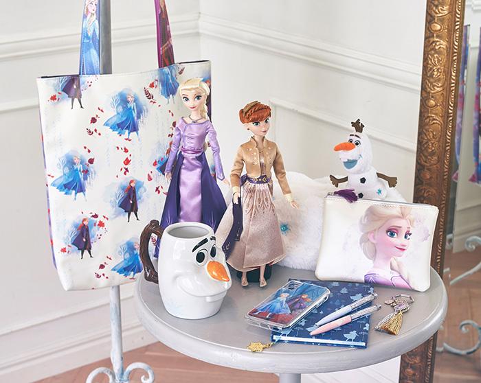 いよいよ来月公開「アナと雪の女王2」!オリジナルグッズ付き前売り券、関連グッズが続々登場中!