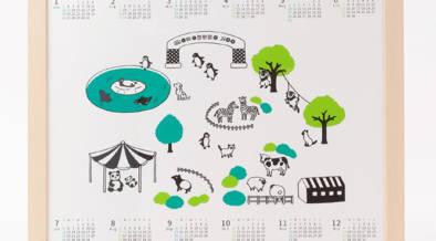 Suicaのペンギンでおなじみ、坂崎千春さんの「モノクロ動物園」クリスマス&迎春アイテムが本日(12/11)10:00~発売開始!