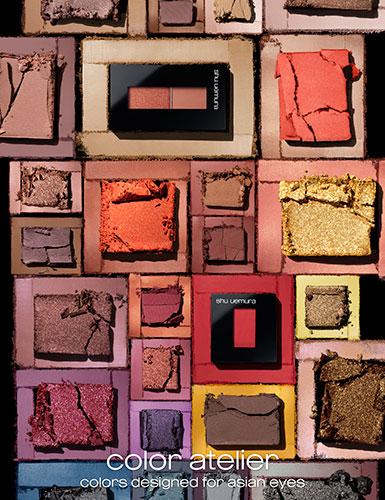 新色63色で全100色展開に!シュウウエムラのプレスドアイシャドーが全リニューアルし、本日(6/19)より全国発売開始!
