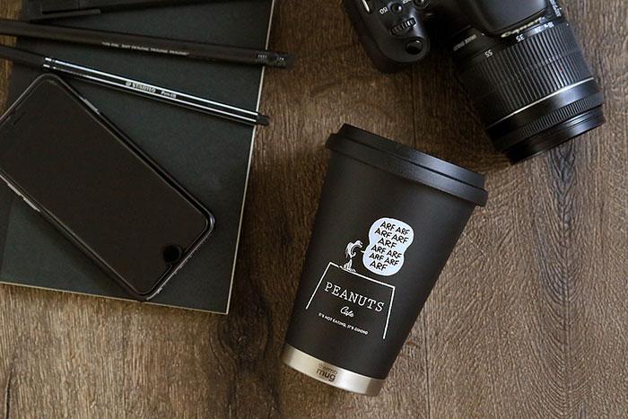 本日(12/18)10:00~、PEANUTS Cafe オンラインショップ限定のPEANUTS Cafe×thermo mugコラボタンブラーが発売!