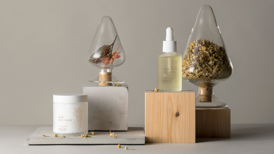 季節限定、キンモクセイの香り。OSAJIの高保湿シリーズが明日(10/23)発売