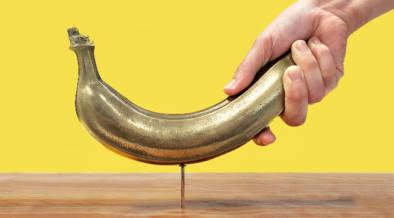 \なぜ作った!/凍らせなくても釘が打てるバナナ
