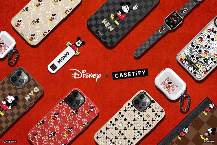 カスタマイズ可能なCASETiFYのiPhoneケースに、ディズニーコラボ第二弾が登場