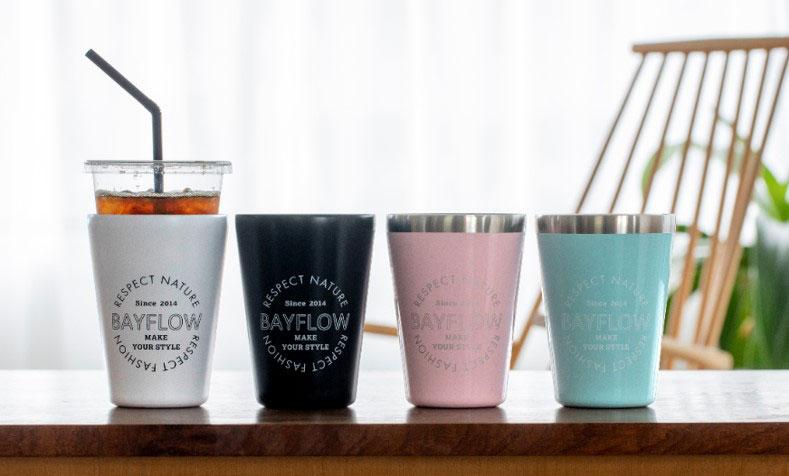 累計80万部突破!宝島社の「カップコーヒータンブラー」シリーズの「BAYFLOW」が新デザインで発売中