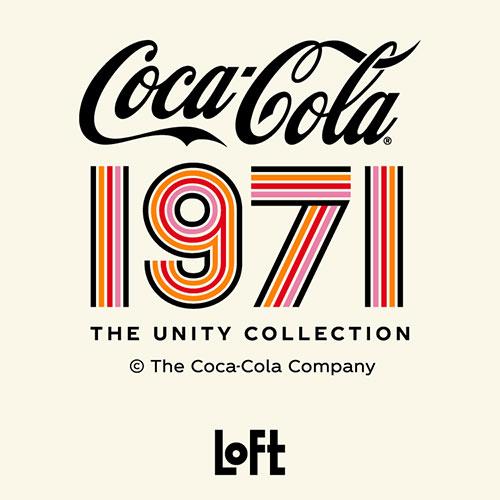 70年代風レトロデザインなロフト限定グッズ!「コカ・コーラ」ヒルトップテレビCM50周年記念「The 1971 Unity Collection」