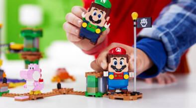 レゴにルイージもやってきた!マリオと一緒に連携プレイが楽しめる!