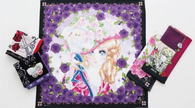 ベルばら×ANNASUI、MARY QUANT、日比谷花壇。花が咲き乱れる華やかなハンカチが登場!