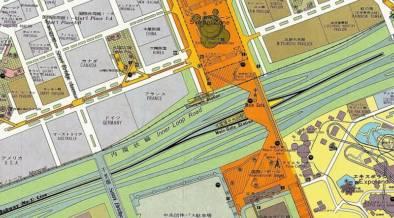 前回の大阪万博ってこんな感じ。当時の案内地図がオンデマンド印刷で復刻!