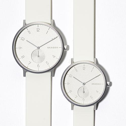 この真っ白さが美しい…。本日(1/22)からSKAGENの新色腕時計が数量限定発売開始!