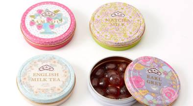 創業200周年の和菓子店榮太樓×Afternoon Teaのコラボ缶入りキャンディが新発売。ホワイトデーのお返しにも。
