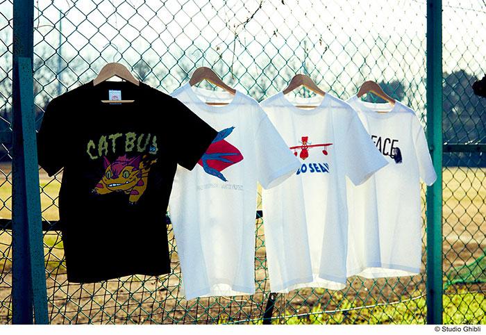 スタジオジブリ作品のアメカジブランド「GBL」より、新作Tシャツが4/26より予約受付開始!
