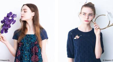 大人の女子に贈る北欧ウェア。フィンレイソンとムーミンがフェリシモのファッションブランド「シロップ.」とコラボ。