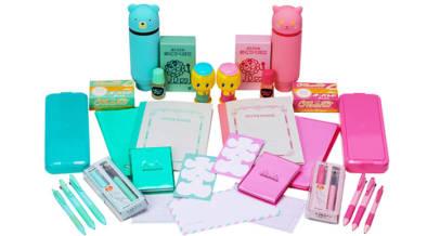 おなじみのロングセラー文房具がピンクとミントグリーンに大変身!買えるのはロフトだけ!