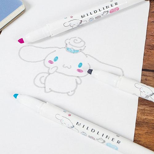 キャラクターイラストを描くのにちょうどいい色。マイルドライナー×サンリオキャラクターズが本日(7/1)から数量限定発売!