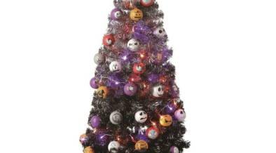 9/28(金)10:00~から2,000セット限定で先行発売!映画「ナイトメアー・ビフォア・クリスマス」仕様のクリスマスツリー