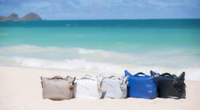明日(2/8)、ハワイのバッグブランド「Lanai TRANSIT HAWAII」のオンラインストアがオープン!日本のどこからでも買えるようになりますぞ~!