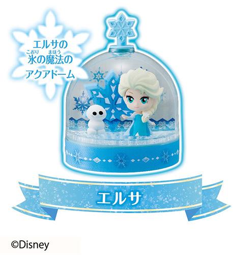 「アナ雪」のオリジナルスノードームが作れるキットが新登場。過去のディズニープリンセスバージョンもカワイイ。